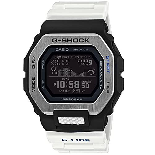 G-Shock GBX100-7, Negro/Blanco, Talla única, GBX100-7.