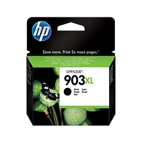HP 903XL T6M15AE Cartuccia Originale per Stampanti a Getto di Inchiostro, Compatibile con Stampanti OfficeJet 6950, OfficeJet Pro 6960 e 6970, Nero