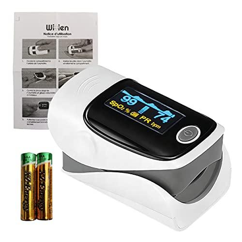 Oxymetre de Doigt Saturometre de qualité Professionnel Mobile se...