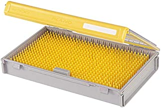 Plano Edge Master Crankbait Small Tackle Storage   Premium Tackle Organization with Rust Prevention, Clear/Yellow