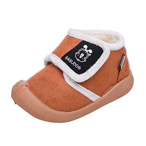 Luckycat Zapatos De Bebé Botas La Nieve Suave De
