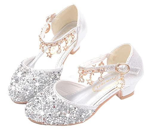 LOBTY Niñas Zapatos de tacón Alto Pisos de Ballet para niños pequeños...