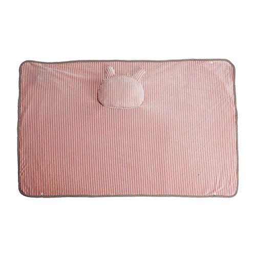 USB Multifunctional Warming Blanket Office Heating Blanket Warming Knee Pad Heating Electric Blanket-Cute Rabbit