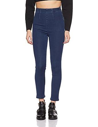 AKA CHIC Women's Skinny Fit Jeans