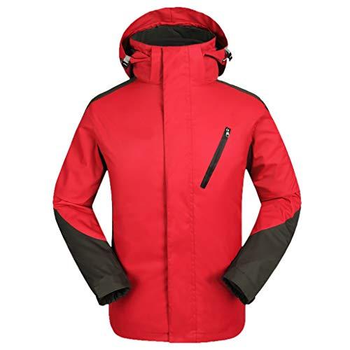 Herren Softshelljacke farblich passende Jacke wasserdicht Winddicht Outdoor Sport kletterjacke Männer übergangsjacke Kölner Karneval Herrenjacke CICIYONER