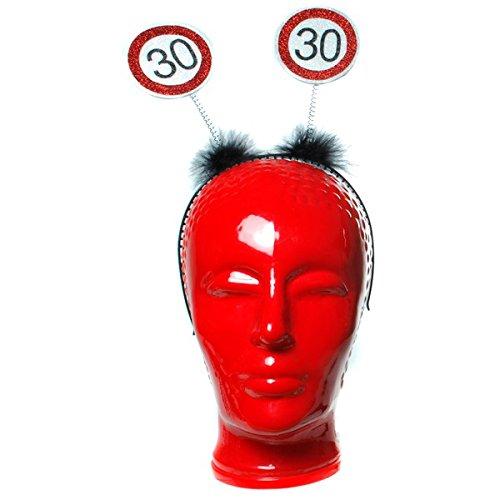 Verjaardag haarband met knip 30 jaar decoratie party decoratie feest Birthday