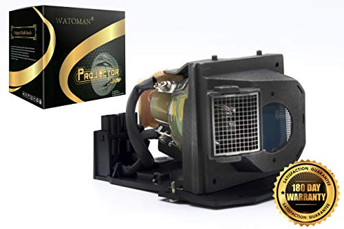 Watoman BL-FS300B Original Replacement Projector Lamp with Complete Housing for Optoma EP1080 EP910 H81 HD7200 HD80 HD8000 HD8000-LV HD800X HD803 HD806 HD81 HD81-LV HD930 HD980 HT1080 HT1200 TX1080 Bl Fs300b Replacement Lamp