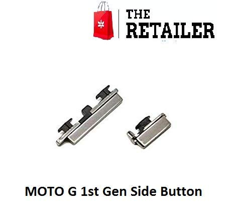 The Retailer Power On Off & Volume Key Button Compatible for Motorola Moto G 1st Generation