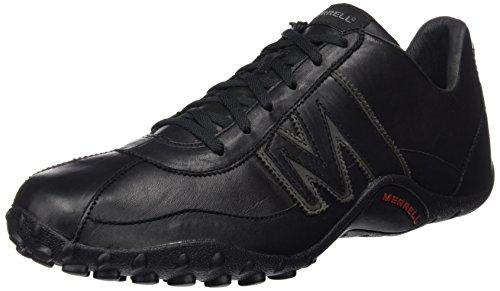 Merrell Sprint Blast, Sneaker Uomo, Multicolore (BLACK/SCARLET), 46 EU