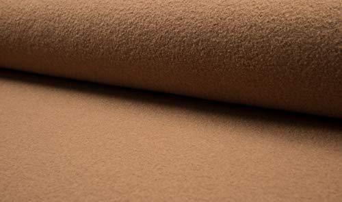 Fabrics-City 5047 Camel - Tela (620 g, 100% Lana Virgen)
