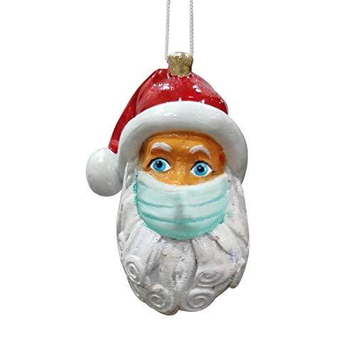 Dergo Personalized Santa Claus of Ornament 2020 Christmas Holiday Decorations 5PCS Home Decor