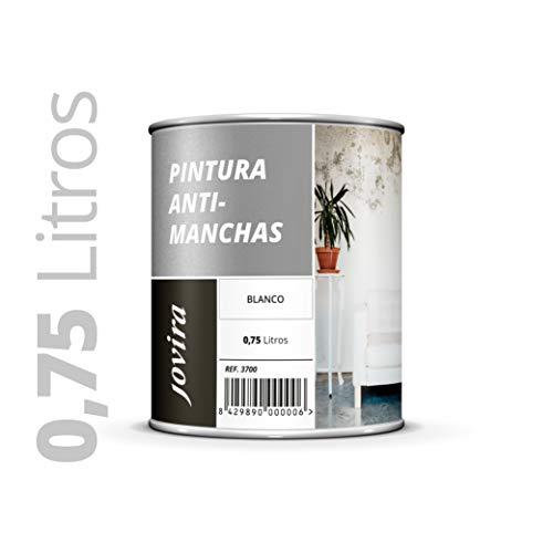 CUBREMANCHAS de grasas,nicotina,humos,bolígrafo, cafe, etc. en paredes y techos. Pintura especial para cubrir definitivamente las manchas difíciles 750 ML