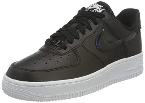 Nike Wmns Air Force 1 '07 Ess, Scarpe da Basket Donna, Black/Black-White, 36.5 EU