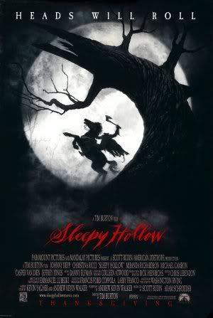 Sleepy Hollow - Johnny Depp – Film Poster Plakat Drucken Bild – 30.4 x 43.2cm Größe Grösse Filmplakat