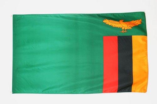 AZ FLAG Flagge SAMBIA 150x90cm - Republik SAMBIA Fahne 90 x 150 cm - flaggen Top Qualität