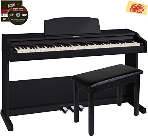 Why Choose Roland RP102 Digital Piano Bundle with Furniture Bench, Austin Bazaar Instructional DVD, ...