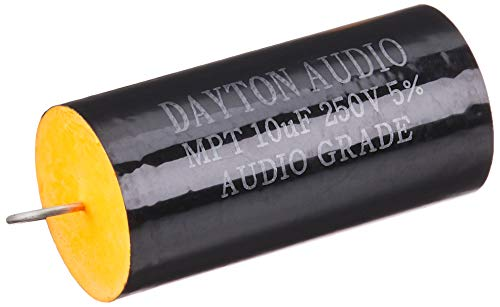 【国内正規品】[MF22d] Dayton Audio フィルム・コンデンサー(250V) 10.0μF 「2個セット」 FC250V10