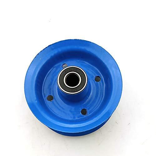 JYCTD 15 cm pneumatiskt hjul aluminiumlegeringshjul för vagn släpvagnshjul 15 cm elektriska scooter däck