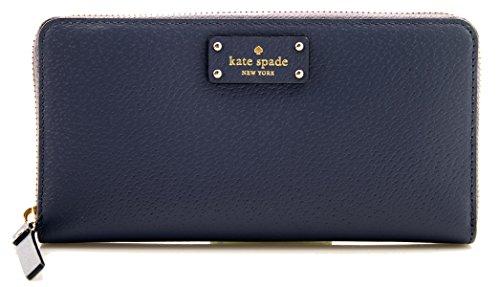 Kate Spade Grove Street Neda Women's Zip Around Leather Wallet (Black)
