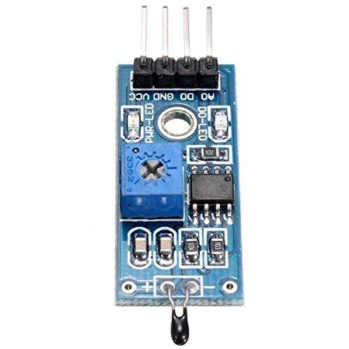 Interruptor de temperatura del módulo de sensor térmico infrarrojo de 4 pines para placa de módulo Arduino / 51 / AVR/PIC