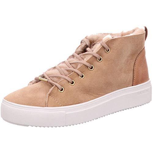Blackstone Damen QL48 Hohe Sneaker, Pink (Cafe AUT Lait), 41 EU