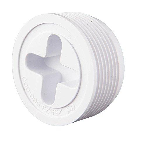 Custom 25523-904-000 3,81 cm MIP Josam Plug - Noir