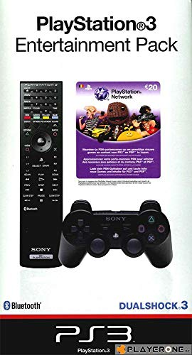 PS3 Starter Kit (Manette + Télécommande + Recharge PSN 20 €)