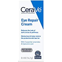 Cerave Dark Circles and Puffiness Under Eye Repair Cream 0.5 Ounce Suitable for Delicate Skin Under Eye Area