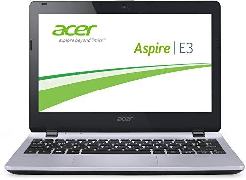 Acer Aspire E3-112-C4LF 29,5 cm (11,6 Zoll) Laptop (Intel Dual Core Prozessor N2840, 2,58GHz, 2GB RAM, 500GB HDD, Win 8.1) silber
