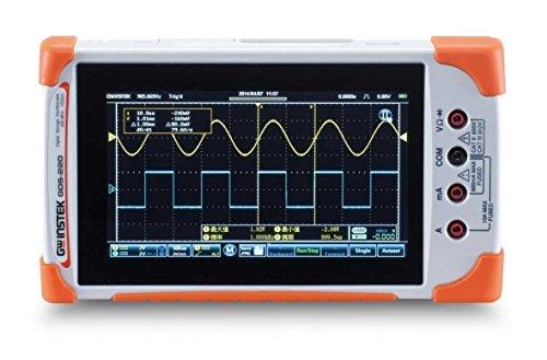 Instek (インステック) コンパクトオシロスコープ+デジタルマルチメータ 200MHz 3・1/2桁DMM; GDS-220 【一般校正付】
