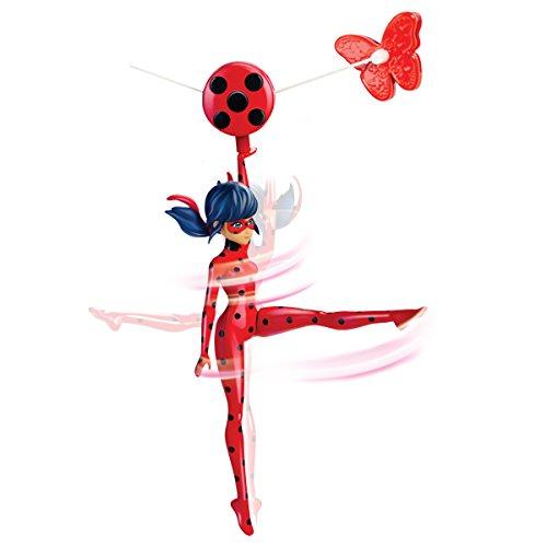 Bandai– Miraculous Ladybug– Funktionsfigur 19cm– Ladybug mit Seilrutsche– 39733