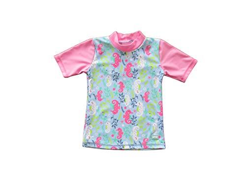 Banz Short Sleeve UV Rash S19rssh8 Chemise, Hippocampe Bleu, 7-8 Years Bébé garçon
