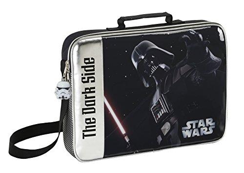 Star Wars Portefeuille extraescolar, 37 x 28 x 28 x 6 cm (SAFTA 611501385)