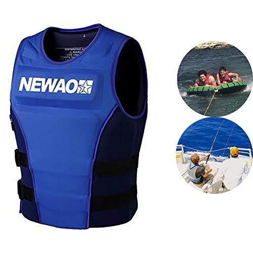 AURALLL Adulto 75N flotabilidad Ayuda Unisex Jinete Chaleco Kayak Vela Ligera para Deportes acuáticos Pesca, Buceo, Kayak, canotaje del Motor,M