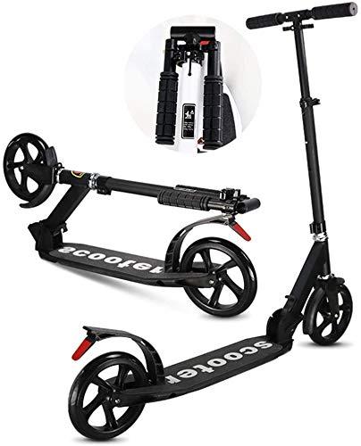 Patín Eléctrico Kick adultos scooter con ruedas grandes - empuje plegable del...