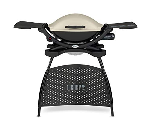 Weber Q2000 - Barbacoa de pie, color negro