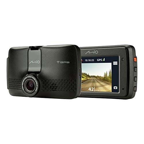 Mio MiVue 733 Wi-Fi Dash Cam with Parking Mode and GPS