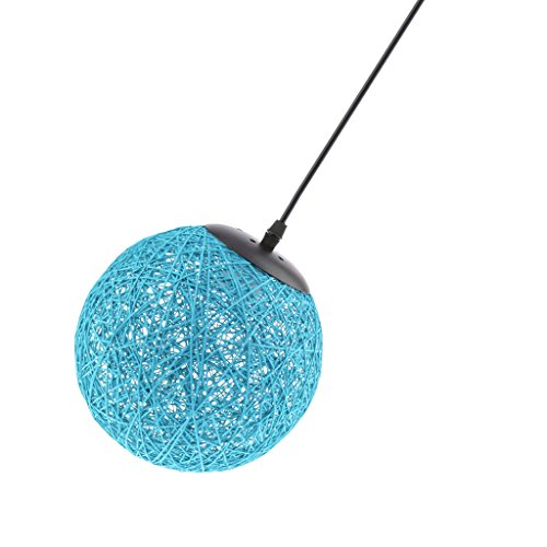 Sharplace Abat-Jour Suspension de Plafond 20cm - Bleu