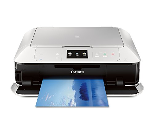 CANON MG7520 Wireless Color Cloud Printer with Scanner and Copier, White (Discontinued By Manufacturer)