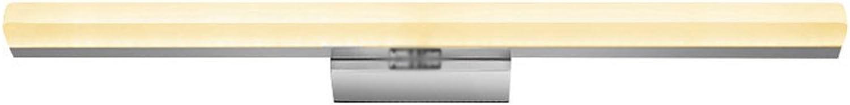 Spiegelleuchten LQ Warmes gelbes Licht 11W führte Badezimmer-Spiegel-Licht-Edelstahl-Wand-Lampen-Wasserdichten Nebel
