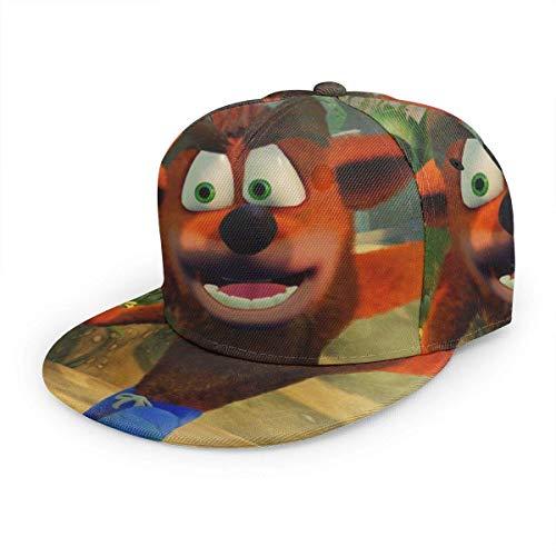 JONINOT Cap Gorra de béisbol Sombrero Choque del Juego de Dibujos Animados Algodón Gorra Casual Sports