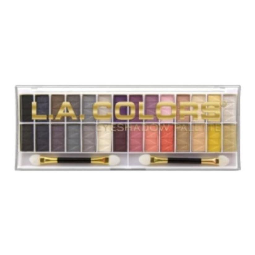 旧正月カタログ日常的にL.A. COLORS 28 Color Eyeshadow Palette - Malibu (並行輸入品)