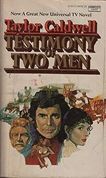Paperback Testimony of Two Men Book