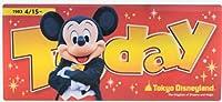 ミッキー&ミニー Today ケース 実写 東京ディズニーリゾート限定 TDR チケットケース ディズニーランド・ディズニーシー 収納ケース