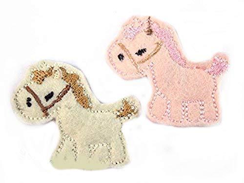 Pferde Haarspange für Kleinkinder - freie Farbwahl
