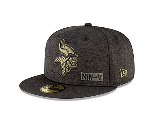 New Era Minnesota Vikings Salute to Service 2020 59fifty Cap 7 1/8-57cm (M)