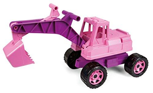 Lena 02137 02137EC GIGA Trucks Bagger, rosa