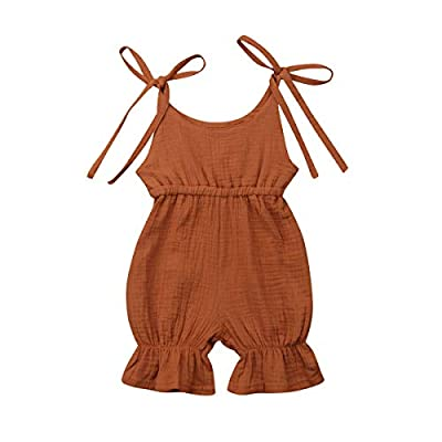 Yaoyaou Infant Baby Girl Romper Overall Bowknot...