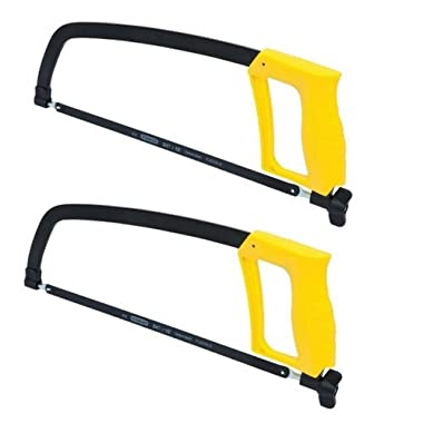 Stanley STHT20138 Solid Frame High Tension Hacksaw (12in / 305mm) … (2 Pack)