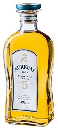 Ziegler - 5 Aureum 1865 Single Malt Whisky 43% - 0,7l